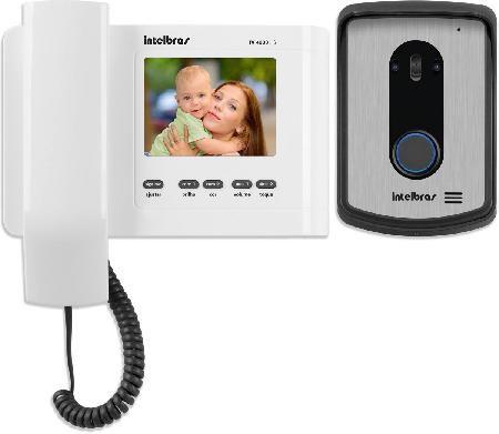 Videoporteiro Intelbras ICON 4520020 IV4010 HS Branco