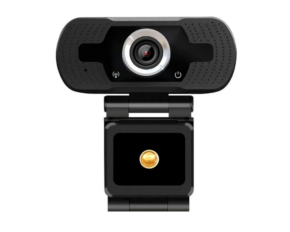 Webcam Loosafe FULL HD 1080P USB BLACK WITH Tripod (LS-F36-1080P(XM))