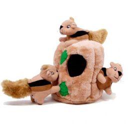 Brinquedo de Pelúcia Outward Hound Toca de Esquilo para Cachorro