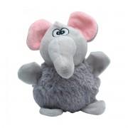 Brinquedo de Pelúcia para Cachorro Elefante Barrigudo Safari Adoleta