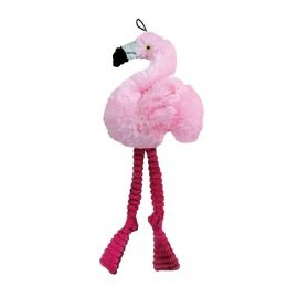 Brinquedo de Pelúcia para Cachorro Flamingo Fancy Jambo
