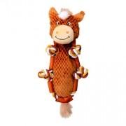 Brinquedo Kong Para Cachorro de Pelúcia Barnyard Knots Horse