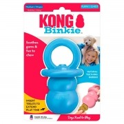Brinquedo Kong Puppy Binkie Recheável Azul