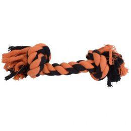Brinquedo Osso de Corda para Cães Laranja Pet Flex Toys