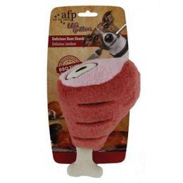 Brinquedo para Cachorro AFP - All For Paws Pernil de Pelúcia Vermelho