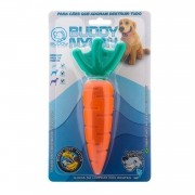 Brinquedo para Cachorro Buddy Toys Cenoura de Nylon