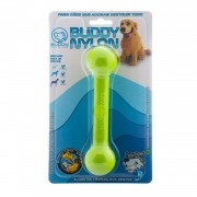 Brinquedo para Cachorro Buddy Toys Halteres de Nylon Verde