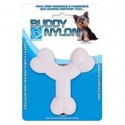Brinquedo para Cachorro Buddy Toys Ossinho Pequeno Porte Nylon