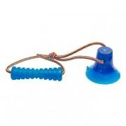 Brinquedo para Cachorro Cabo de Guerra com Ventosa Bite Toy Petmaxx Azul
