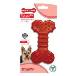 Brinquedo para Cachorro Durabone Dura Flat Odontopet Vermelho
