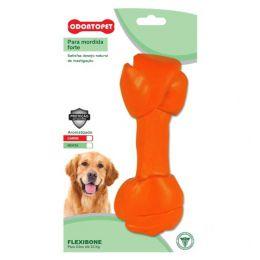 Brinquedo para Cachorro Flexibone Big Osso Odontopet Laranja