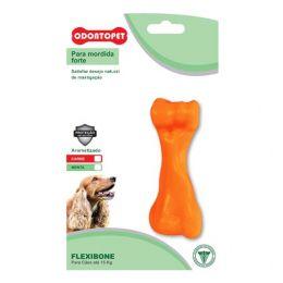 Brinquedo para Cachorro Flexibone Tbone Odontopet Laranja