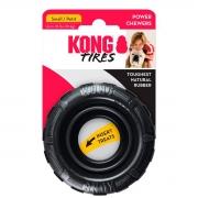 Brinquedo para Cachorro Kong Pneu Rechável Tires Extreme