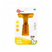 Brinquedo para Cachorro Limp Dente Petmaxx Sabor Banana