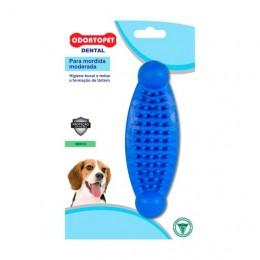 Brinquedo para Cachorro Massageador Dentalbone Odontopet Azul