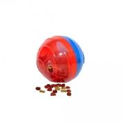 Brinquedo para Cachorro Pet Ball Pet Games Vermelho e Azul