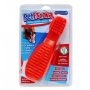 Brinquedo para Cachorro Pet Games Pet Escova Vermelha