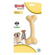 Brinquedo para Cachorro Sênior Odontopet Osso Bege