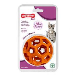 Brinquedo para gato com catnip Odontopet Cat Bola Laranja