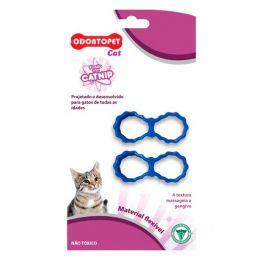 Brinquedo para Gato com Catnip Odontopet Cat Laço Azul