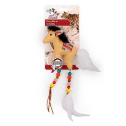 Brinquedo para Gatos AFP Dreams Catcher Cavalo Maluco Bege - Crazy Horse