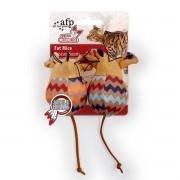 Brinquedo para Gatos AFP Dreams Catcher Ratinho Gordo Bege - Fat