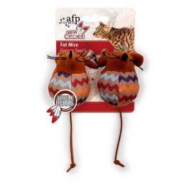 Brinquedo para Gatos AFP Dreams Catcher Ratinho Gordo Marrom - Fat