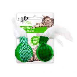Brinquedo para Gatos AFP Modern Cat Meteoro de Penas Verde - Feather Meteor