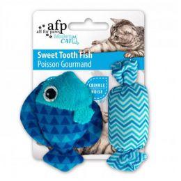 Brinquedo para Gatos AFP Modern Cat Peixinho do Doce Azul - Sweet Tooth Fish