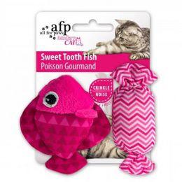 Brinquedo para Gatos AFP Modern Cat Peixinho do Doce Rosa - Sweet Tooth Fish