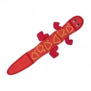 Brinquedo Resistente para Cachorro Fire Biterz Salamandra Vermelha