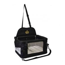Cadeira de Segurança para Carro São Pet Cães e Gatos com até 10 Kg Preta