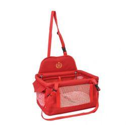 Cadeira de Segurança para Carro São Pet Cães e Gatos com até 10 Kg Vermelha