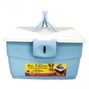 Caixa Transporte Mini Gulliver American Pets Azul