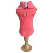 Camisa para Cachorro Malloo Pólo Neon Pink