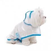 Capa de Chuva para Cachorro Bichinho Chic Azul