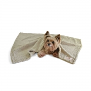 Cobertor para Cachorro e Gato Suiça Bege