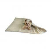 Cobertor para Cachorro e Gato Suiça Plus Bege
