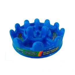 Comedouro Lento Pet Games Mini Pet Fit Azul