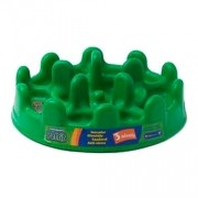 Comedouro Lento Pet Games Mini Pet Fit Verde