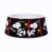 Comedouro para Cachorro Melanina Snoopy Film Black Zooz Pets
