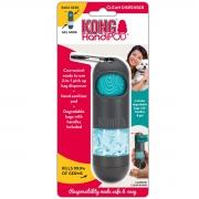 Kit Cata Caca com Dispenser de Alcool Gel para Cães Kong