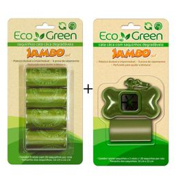 Kit Cata Caca + Refil Eco Green Jambo Pet