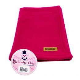 Manta Soft Pink Bichinho Chic