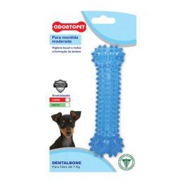 Mordedor para Cães Dentalbone para Mordida Moderada Sabor Menta Azul Odontopet