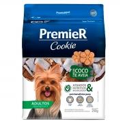 Petisco Premier Cookie Cães Adultos Raças Pequenas Coco e Aveia