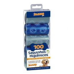 Refil Cata Caca Luxo Boy Azul com 5 Rolos Jambo
