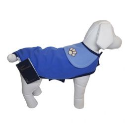 Roupa para Cachorro Pickorruchos Capa Slim Azul N°03