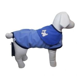 Roupa para Cachorro Pickorruchos Capa Slim Azul N°05