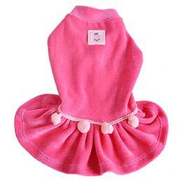 Roupa para Cachorro Vestido Charme Rosa Bichinho Chic